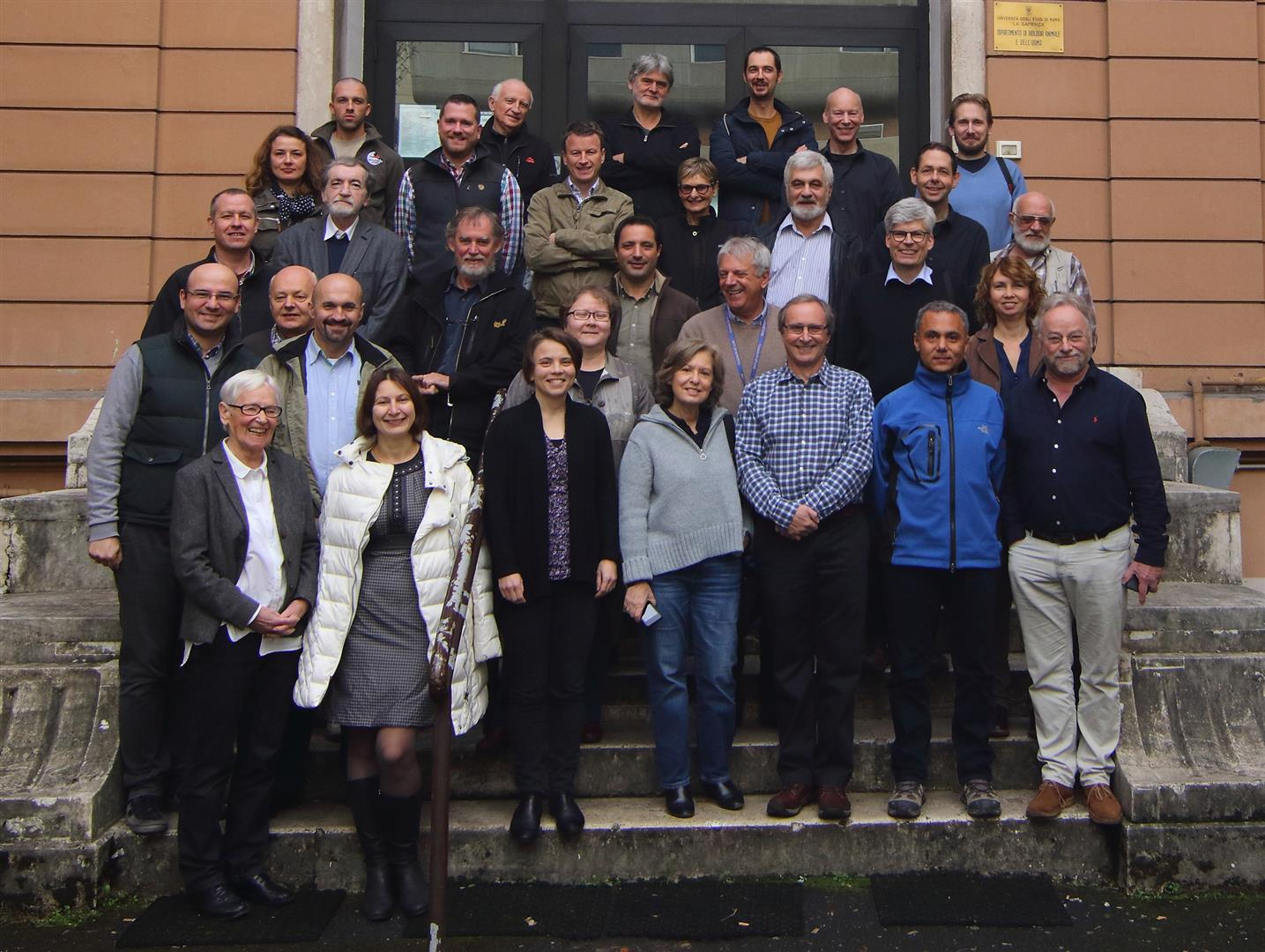 Attendees at the Rome meeting